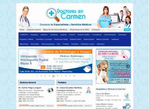 Primera plataforma Doctores en Carmen